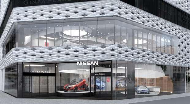 A Nissan vai inaugurar em Tóquio o novo Nissan Crossing