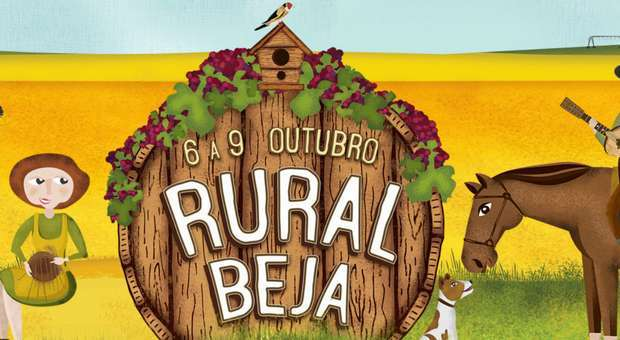 Ruralbeja de 6 a 9 de outubro na cidade de Beja