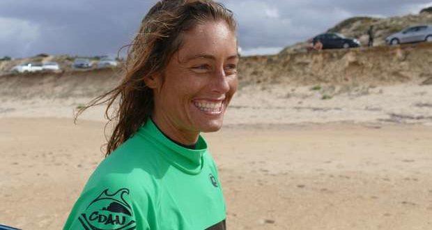 Joana Schenker sagrou-se tricampeã nacional de bodyboard