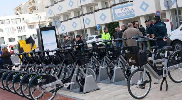 Lagoa inaugurou sistema urbano de Bicicletas elétricas
