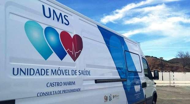 Unidade Móvel de Saúde percorre os montes de Castro Marim