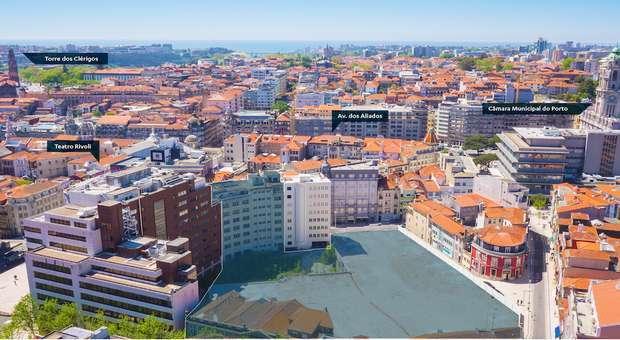 JLL comercializa o Bonjardim City Block na Baixa do Porto