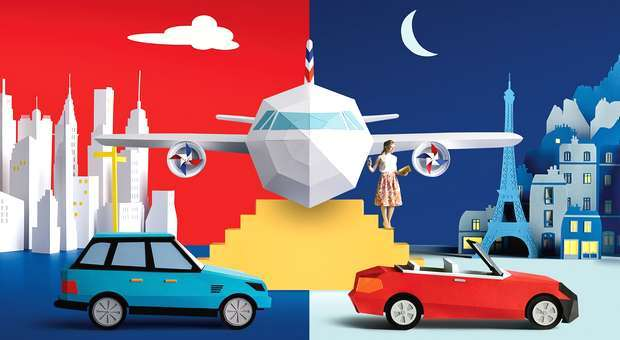 Hertz, Thrifty e Firefly as Rent-a-Car exclusivas Air France