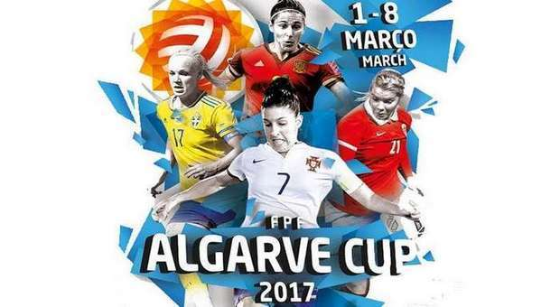 As melhores seleções de Futebol Feminino na Algarve Cup