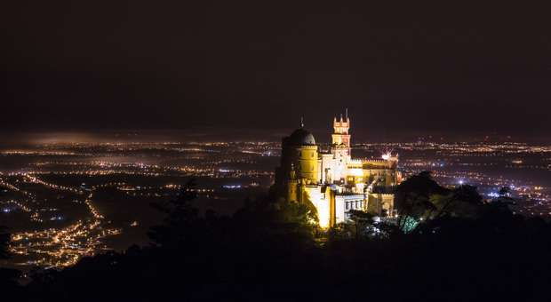 Palácio da Pena em Sintra abre à noite com entrada livre