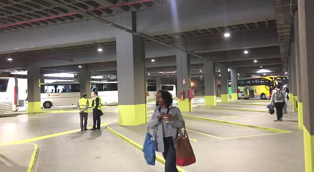 Porto tem novo terminal rodoviário no Campo 24 de Agosto