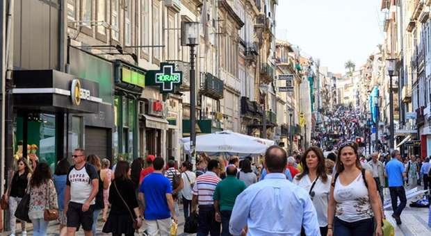 Rua de Santa Catarina é a artéria com o maior tráfego pedonal