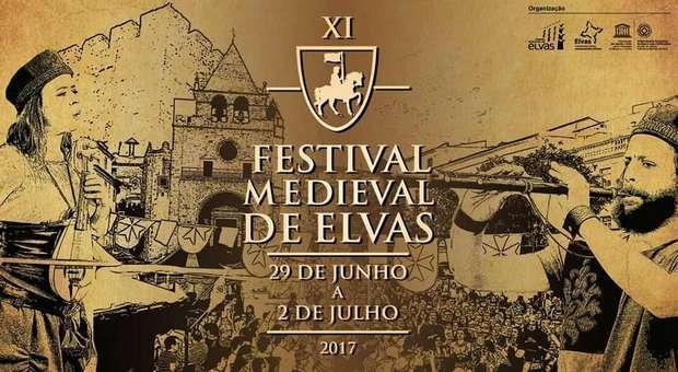 XI Festival Medieval no centro histórico de Elvas