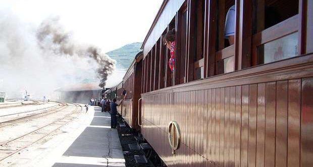 Comboio Turístico entre Porto São Bento e o Tua