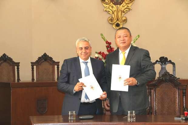 Elvas assina memorando de dsenvolvimento económico