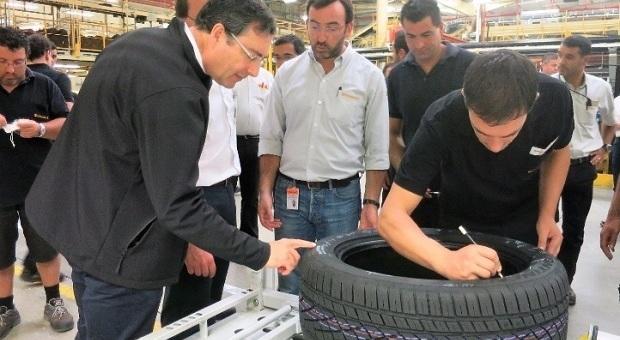 Fábrica Continental de Lousado atinge o pneu 300 milhões