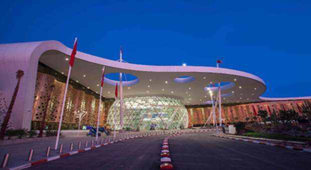 Aeroporto de Marraquexe o mais bonito segundo a Skyteam