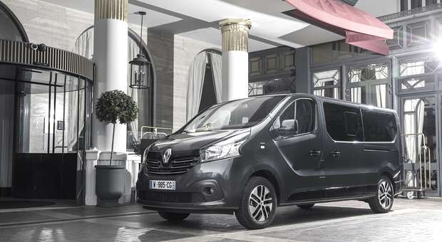 Trafic SpaceClass da Renault uma oferta topo de gama