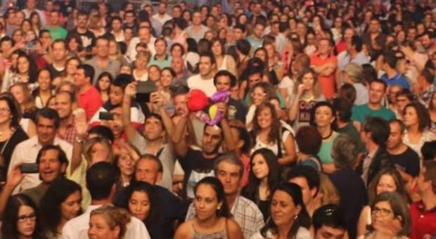 Casa cheia nos concertos da feira de São Mateus em Elvas