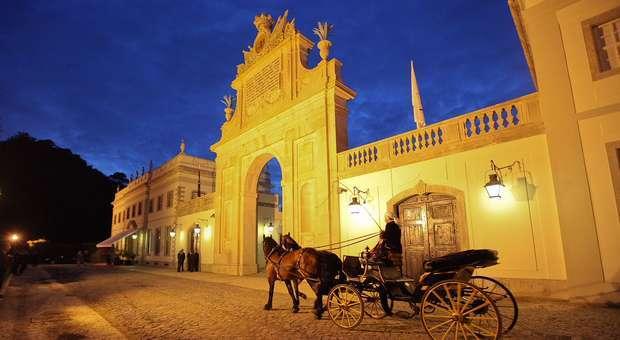 As mil e uma noites no Tivoli Palácio de Seteais