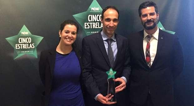 MSC Cruzeiros distinguida com o Prémio Cinco Estrelas