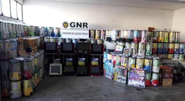 Operação GNR apreende mais de 2M€ de jogo ilegal