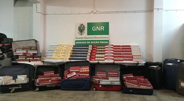 GNR desarticulou rede de contrabando de tabaco