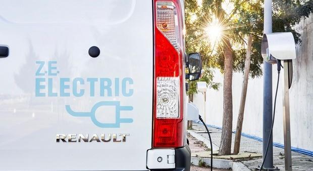 A Renault anuncia a nova comercial elétrica MASTER Z.E.