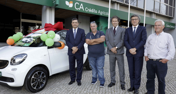 Crédito Agrícola entregou Smart Forfour Electric Drive