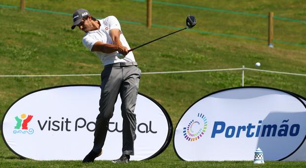 Vítor Lopes destaca-se no Open de Portugal em Golfe