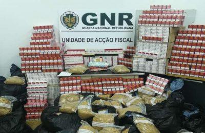 GNR trava entrada no mercado de carga de tabaco ilegal