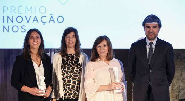 Vencedores do prémio Inovação NOS 2018
