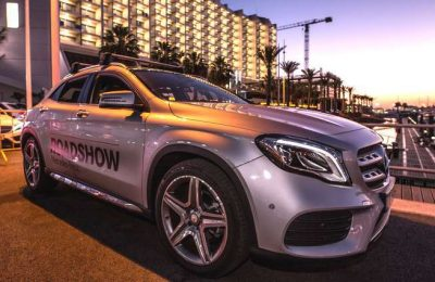 Mercedes-Benz On the Road em Vilamoura no Algarve