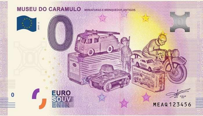 Museu do Caramulo lança nova nota colecionável
