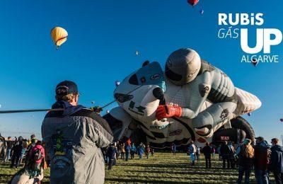 Festival de balonismo Rubis Gás Up no Algarve