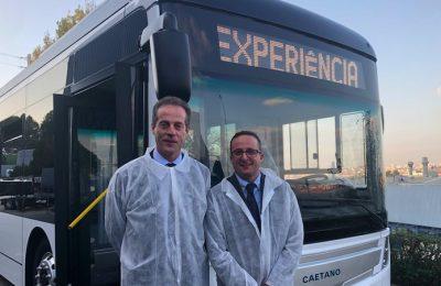 Novos autocarros elétricos da Transdev em Aveiro