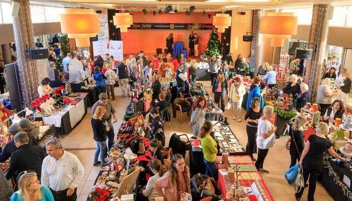 Mercado de Natal solidário em Vale do Lobo