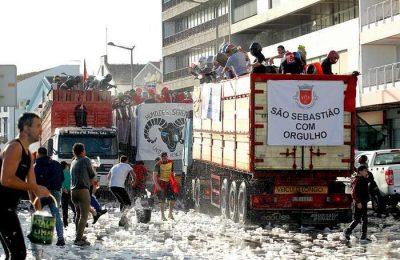 Batalha das Limas no Carnaval de Ponta Delgada