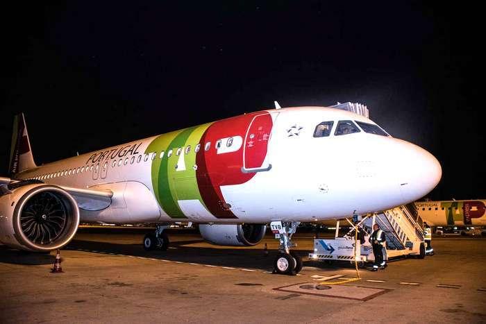 Rota Lisboa- Funchal da TAP com o novo Airbus A320neo