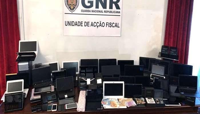 GNR do Porto desmantelou rede de jogo ilegal