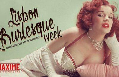 Maxime participa no Festival Lisbon Burlesque Week