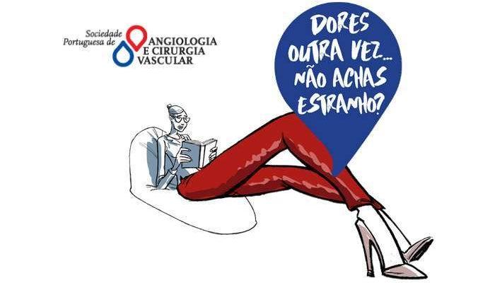A SPACV lança campanha ALERTA DOENÇA VENOSA