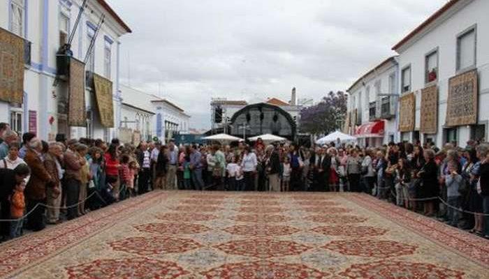 O Tapete está na rua em Arraiolos