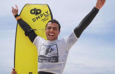 Daniel Fonseca sagrou-se campeão nacional de bodyboard