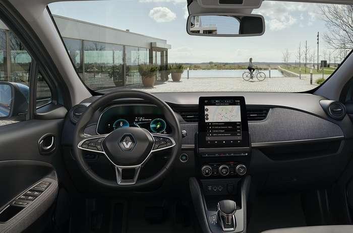 O Novo Zoe reforça a gama 100% elétrica da Renault