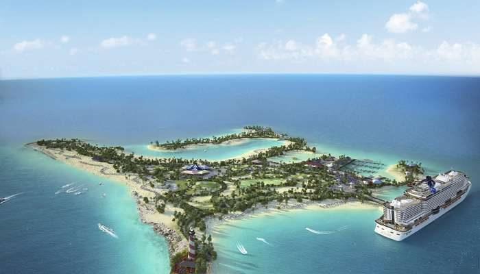 A Ocean Cay MSC Marine Reserve abre portas em Novembro