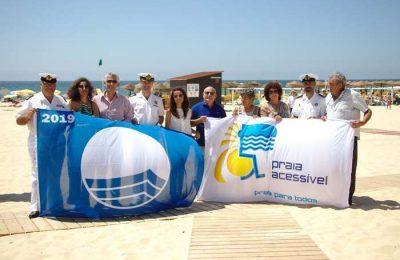 Praias certificadas com a Bandeira Azul em Castro Marim