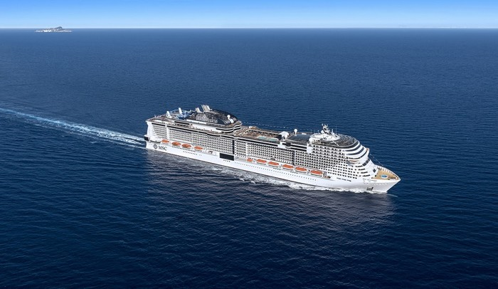 O MSC Grandiosa vai ser o maior navio da MSC Cruzeiros