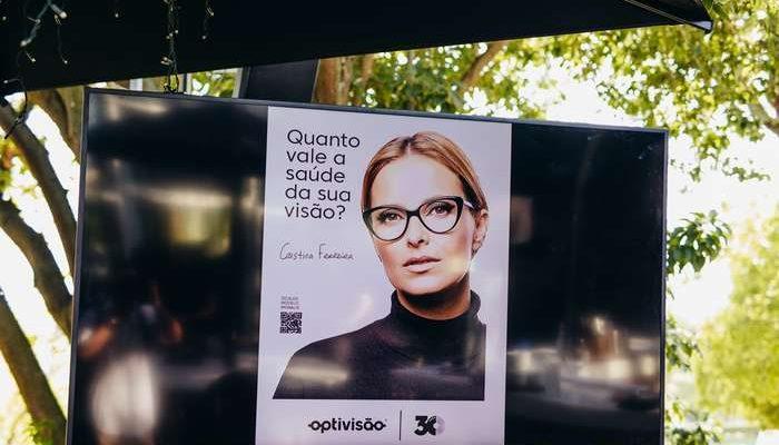 Cristina Ferreira é o rosto da campanha da Optivisão