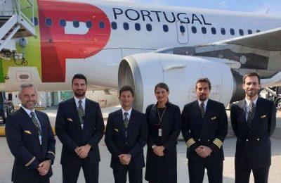 Rota diária da TAP com partida do Porto para Munique