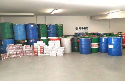 GNR desmantela rede ilegal de combustíveis