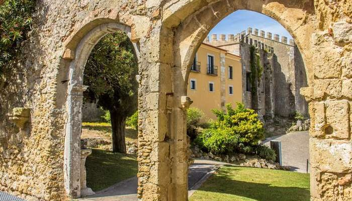 Novos percursos acessíveis ao Castelo de Palmela