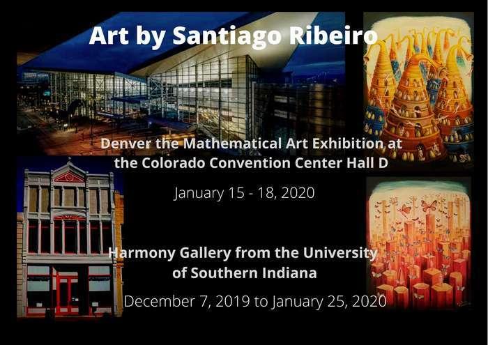 Santiago Ribeiro expõe em Denver no Colorado