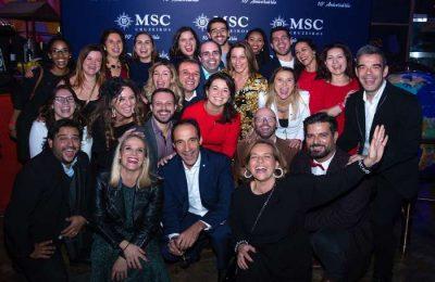 A MSC Cruzeiros assinalou o 10º aniversário da companhia em Portugal com uma festa que teve lugar na passada sexta-feira (15), no El Bulo Social Club do Chef Chakall
