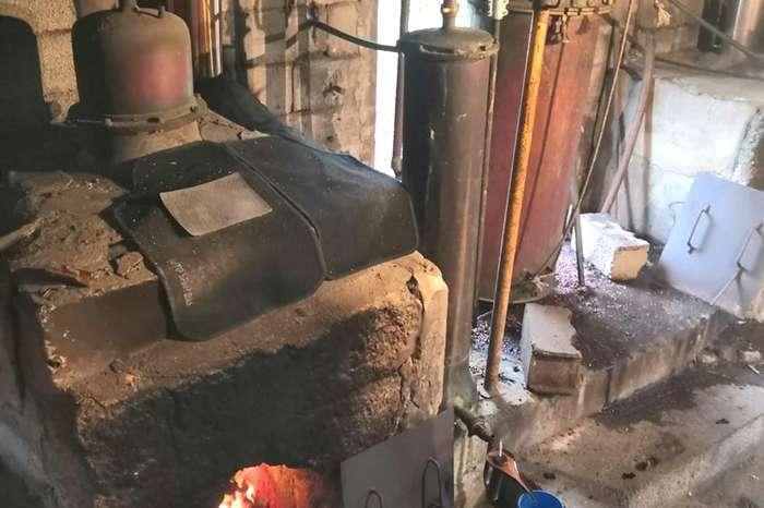 A Unidade Fiscal da GNR Porto encerrou destilaria ilegal